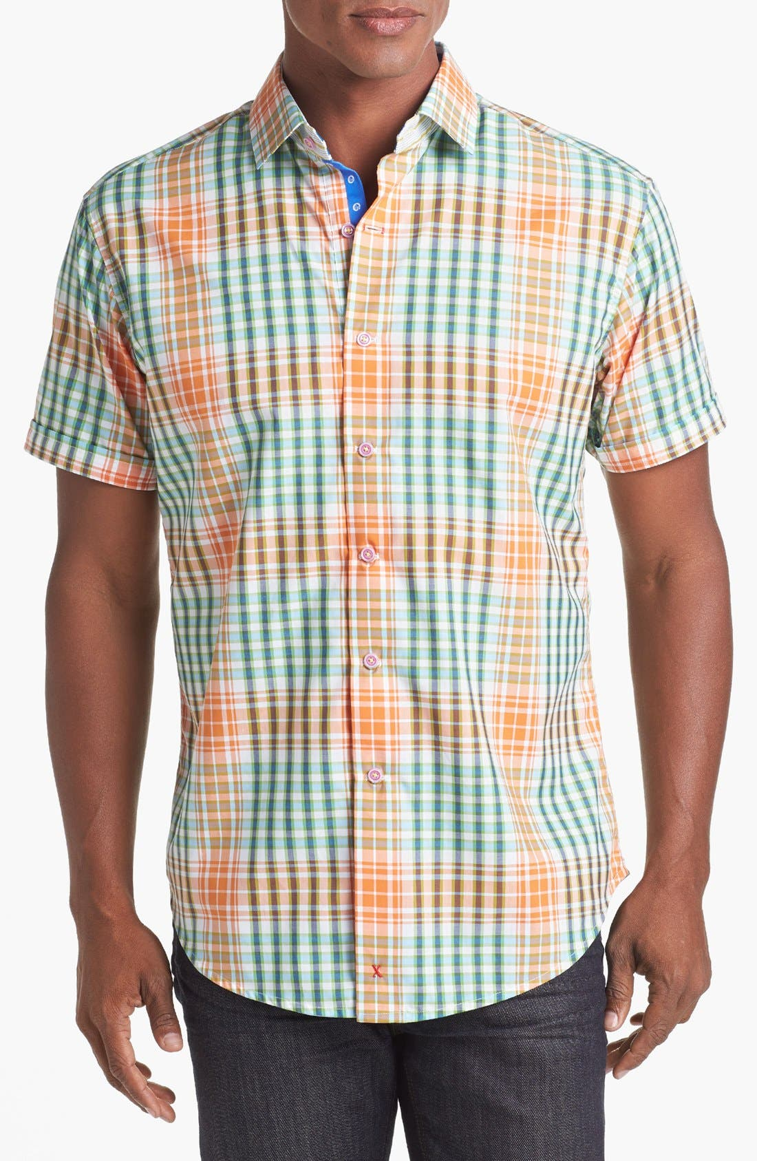 Alternate Image 1 Selected - Robert Graham 'Metro' Short Sleeve Sport Shirt