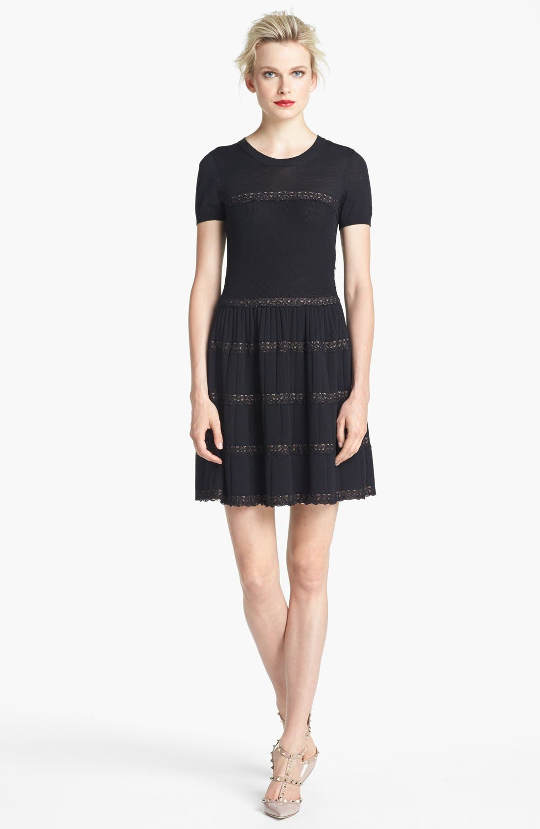 Alternate Image 1 Selected - RED Valentino Knit Dress
