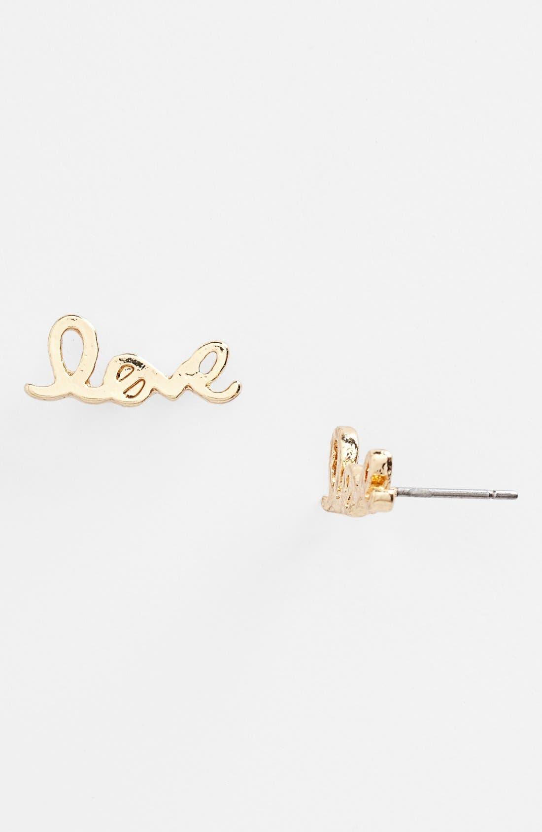Main Image - BP. 'Love' Earrings (Juniors)