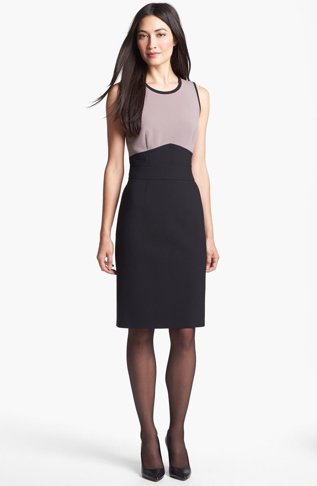 Alternate Image 1 Selected - BOSS HUGO BOSS 'Dalota' Sheath Dress