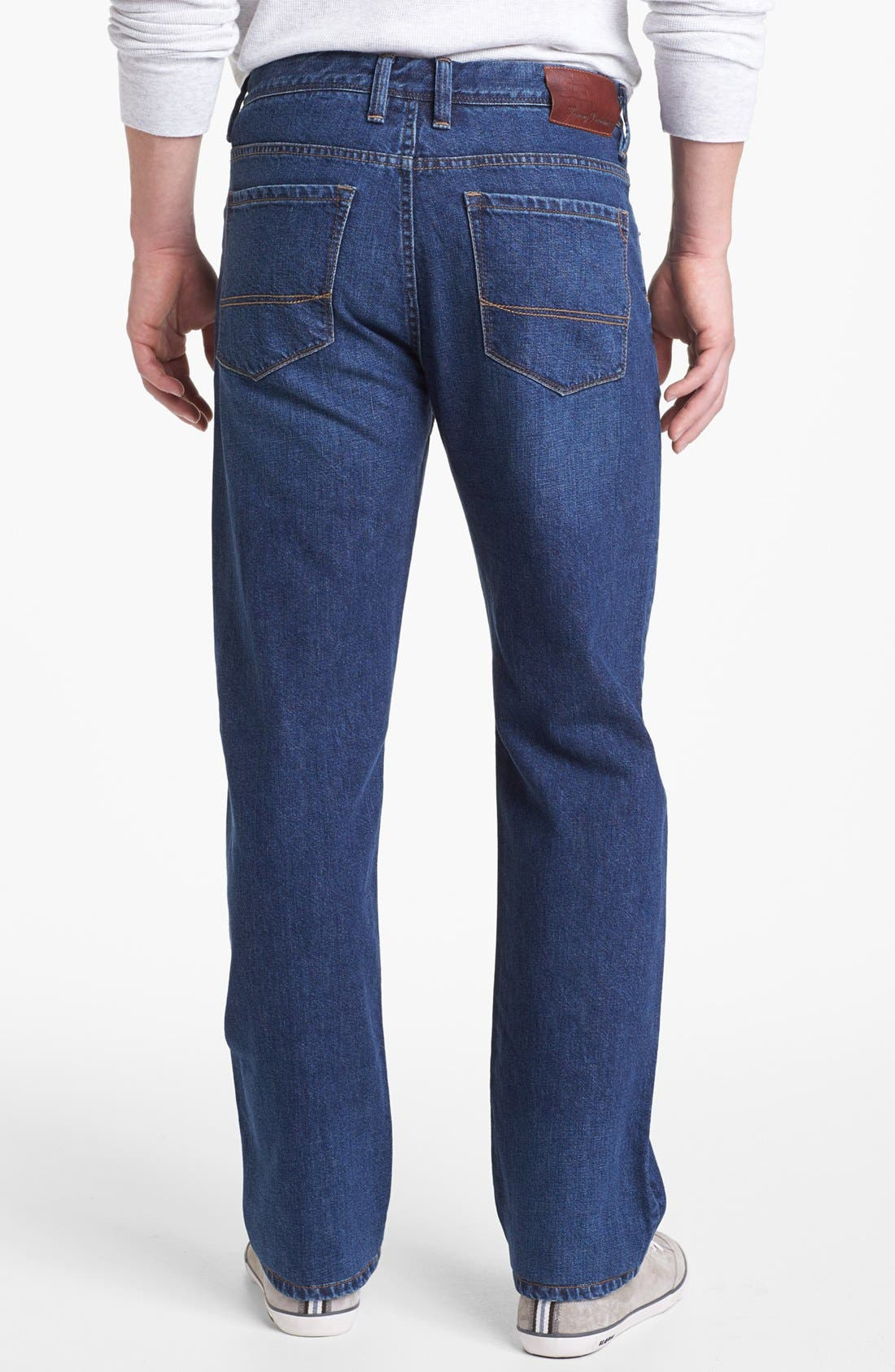 Alternate Image 2  - Tommy Bahama Denim 'Stevie' Standard Fit Jeans (Dark Wash)