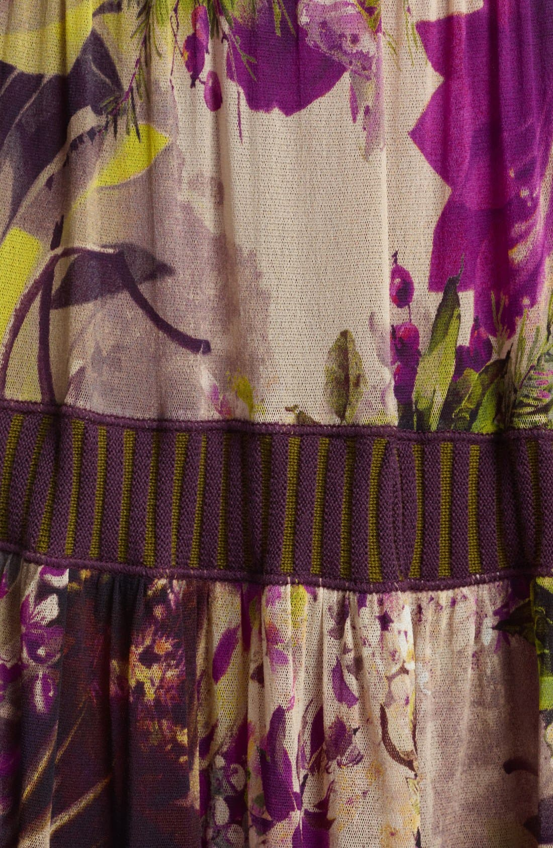 Alternate Image 3  - Jean Paul Gaultier Fuzzi Floral Print Tiered Tulle Skirt