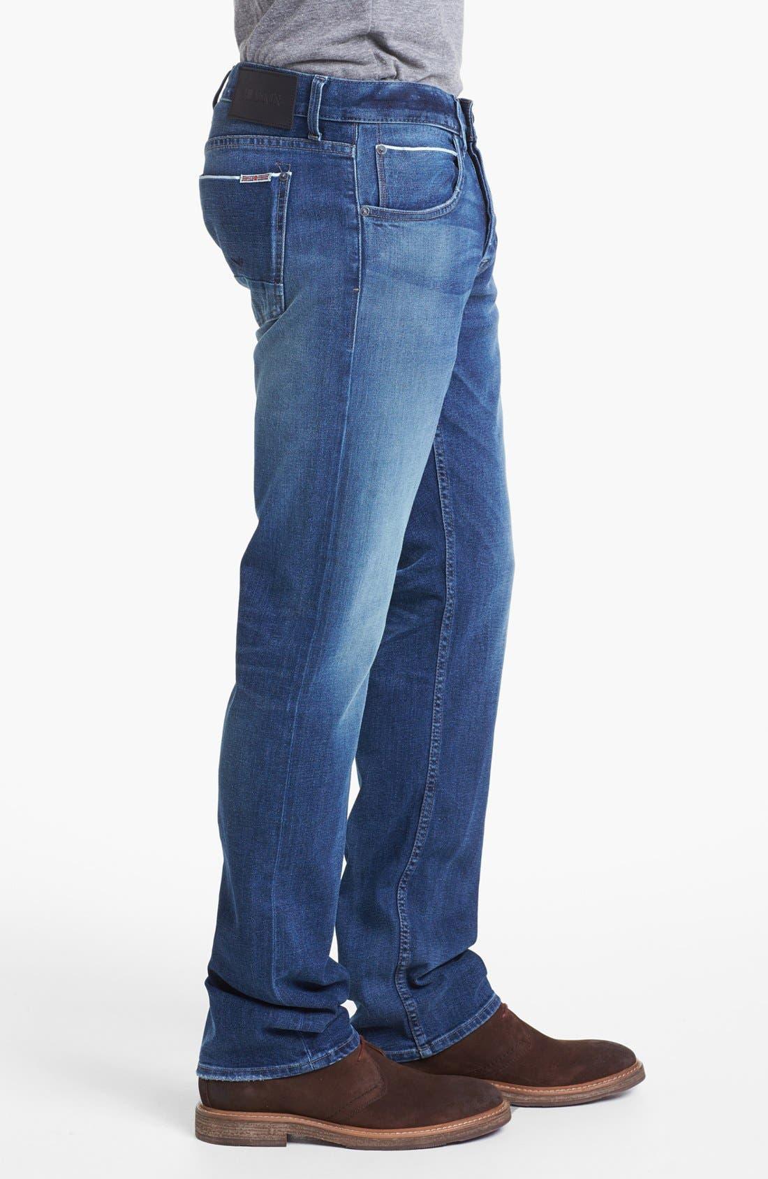 Alternate Image 3  - Hudson Jeans 'Byron' Straight Leg Selvedge Jeans (Belize)