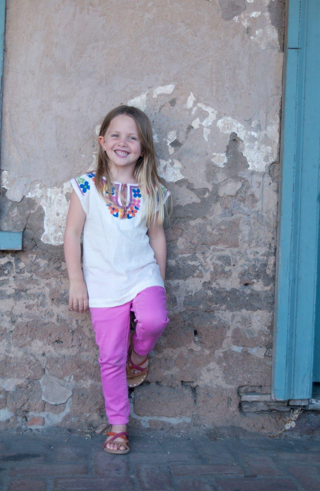 Alternate Image 3  - Peek 'Dylan' Jeans (Toddler Girls, Little Girls & Big Girls)