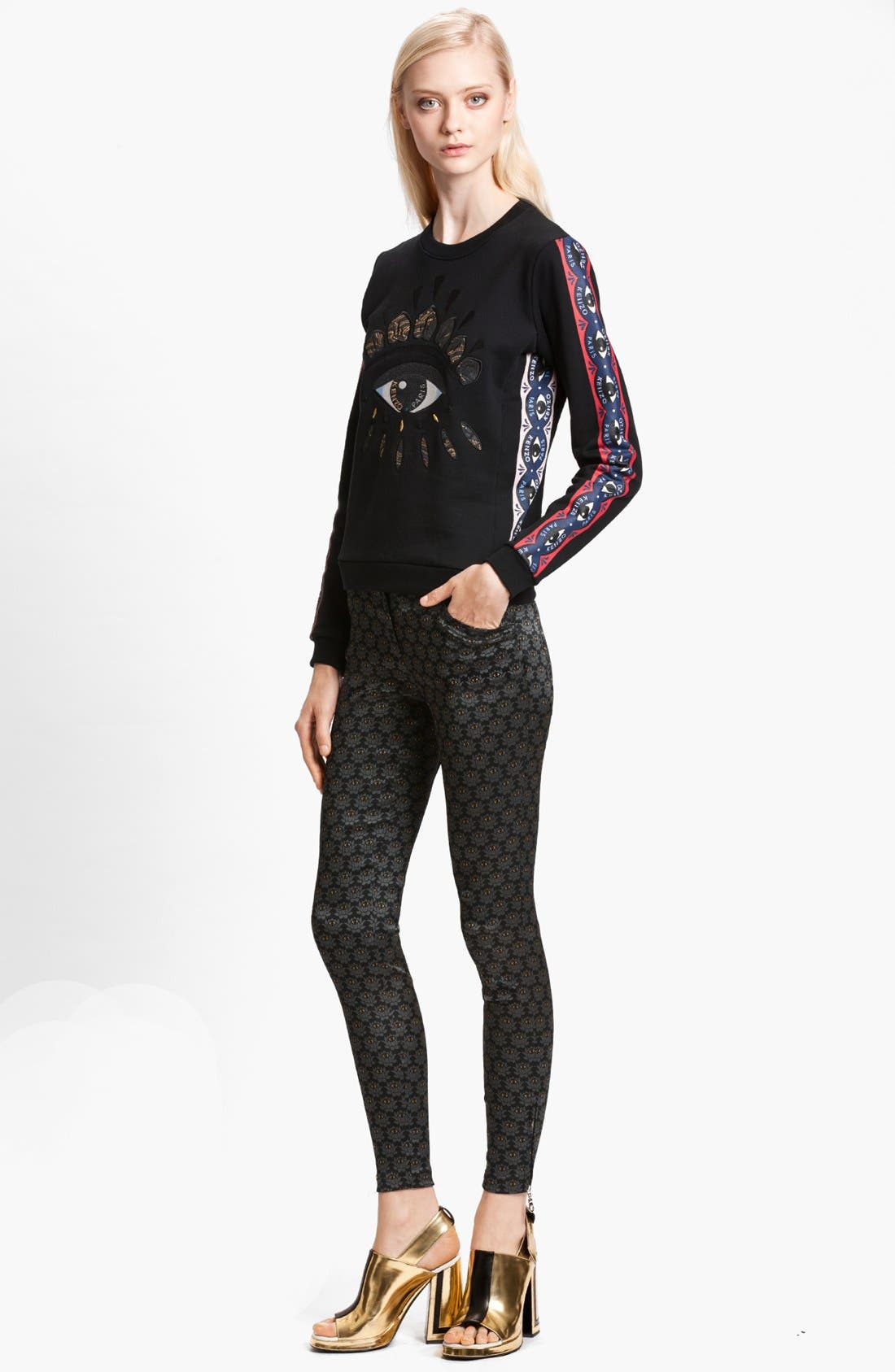 Alternate Image 1 Selected - KENZO Embellished Sweatshirt