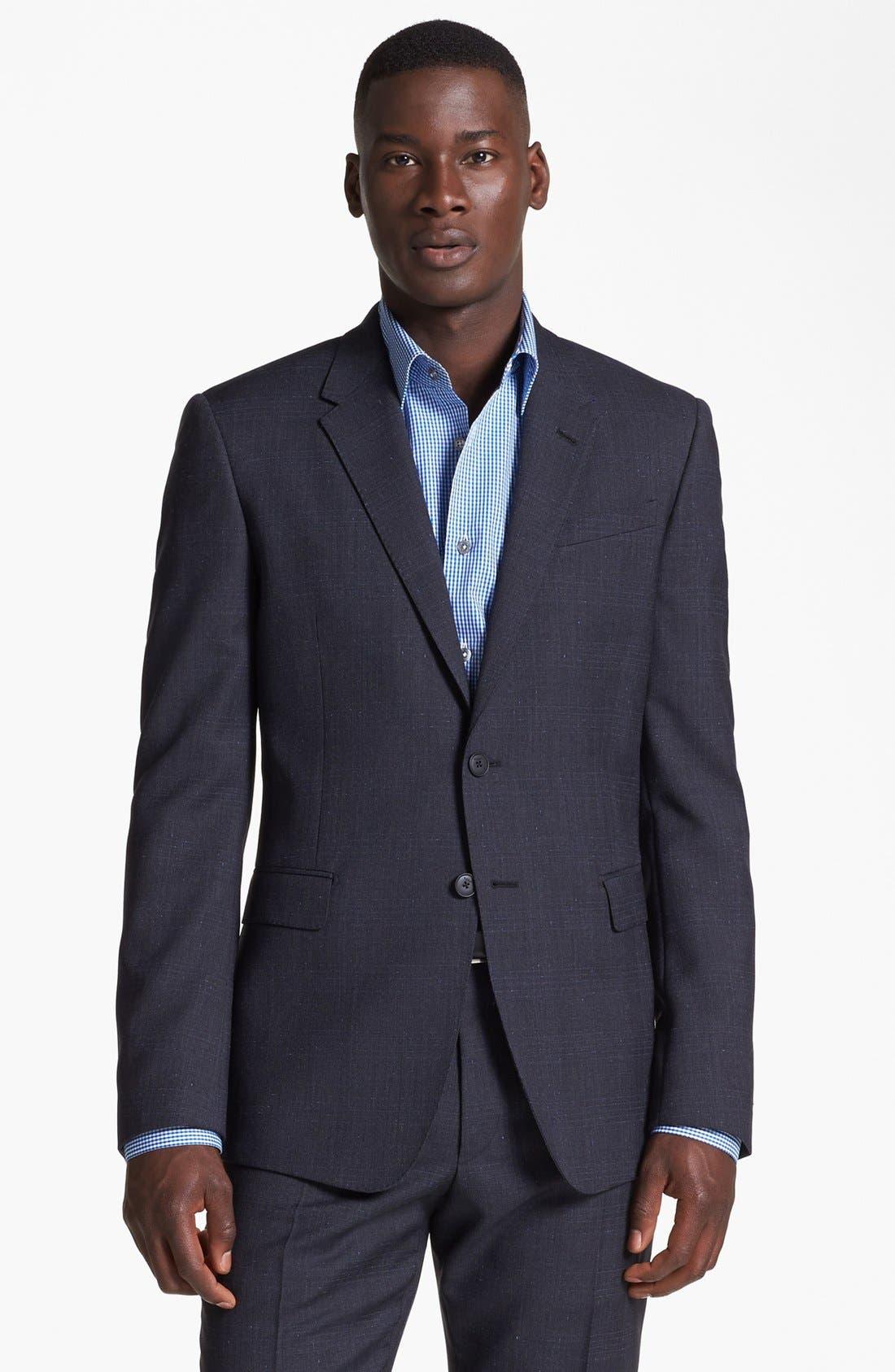 Alternate Image 4  - Paul Smith London Plaid Wool Suit