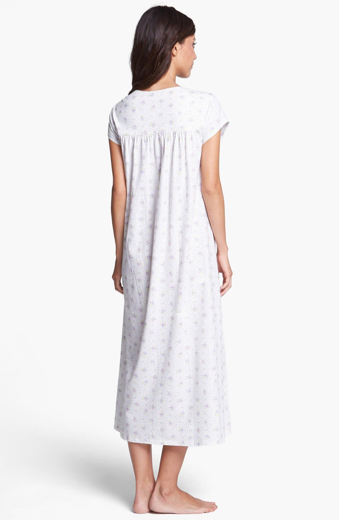 Alternate Image 2  - Eileen West 'Flower Box' Nightgown