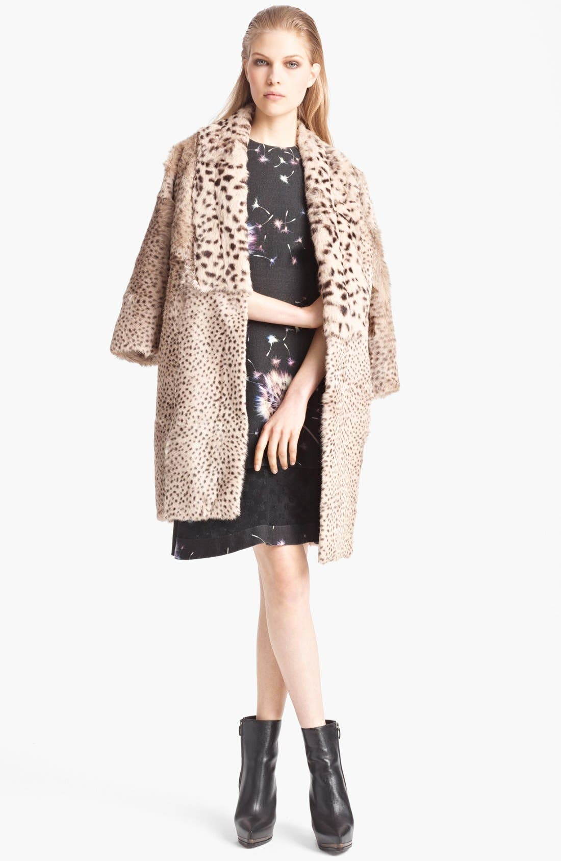 Alternate Image 3  - Thakoon Floral Wool & Lace Dress
