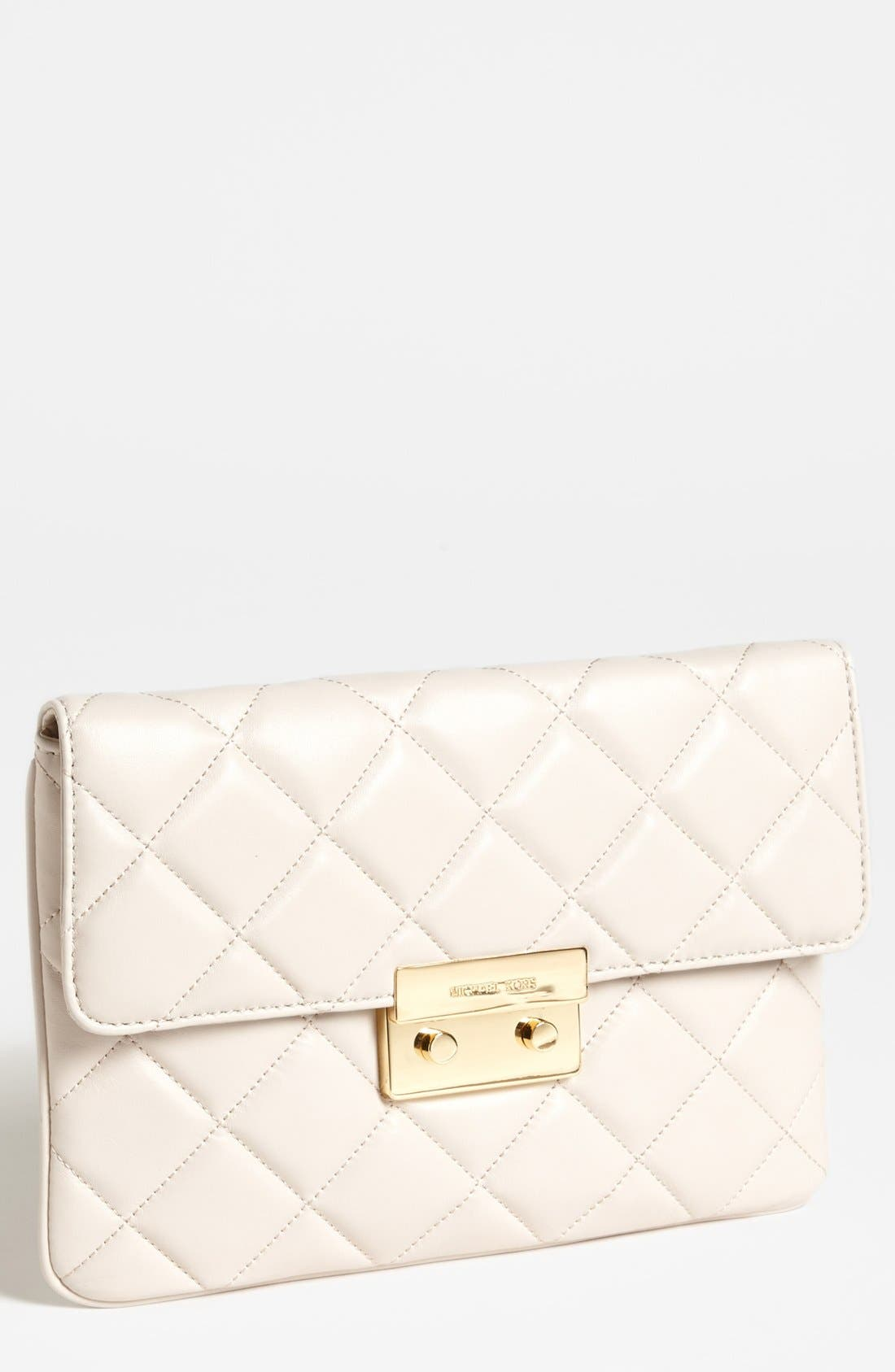Alternate Image 1 Selected - MICHAEL Michael Kors 'Sloan Quilt' Clutch