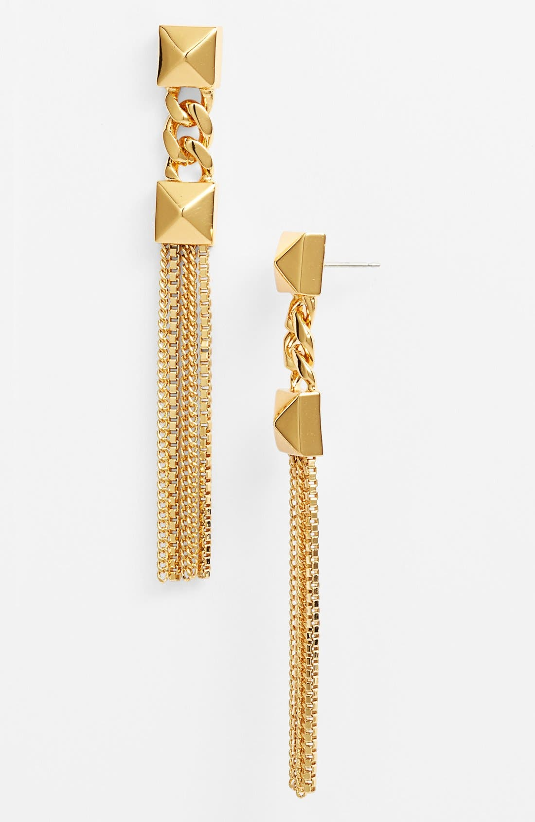 Alternate Image 1 Selected - Vince Camuto 'Summer Metals' Linear Earrings