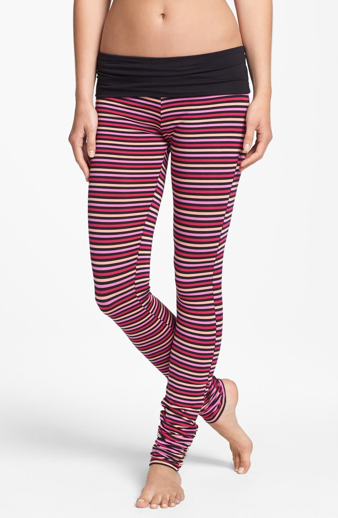 Alternate Image 1 Selected - DKNY 'Soho Mews Yoga Skinnies' Leggings