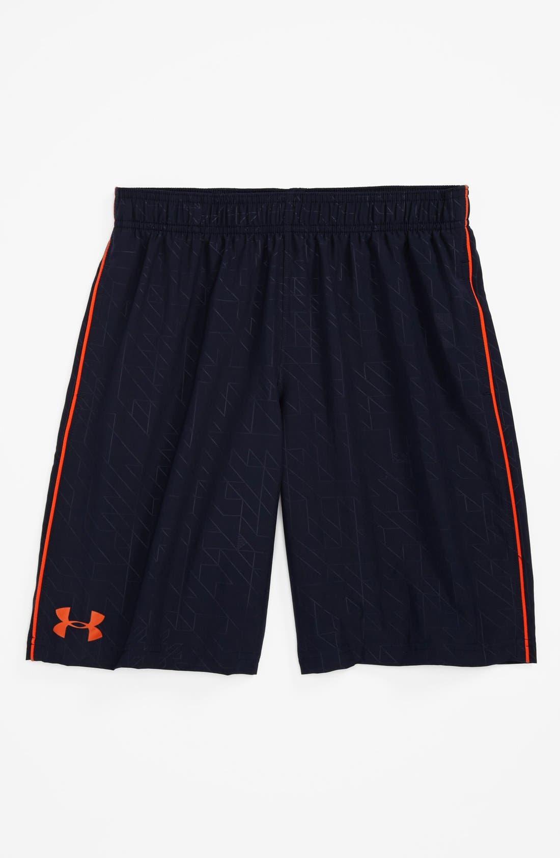 Alternate Image 1 Selected - Under Armour 'Ultimate' HeatGear® Shorts (Big Boys)