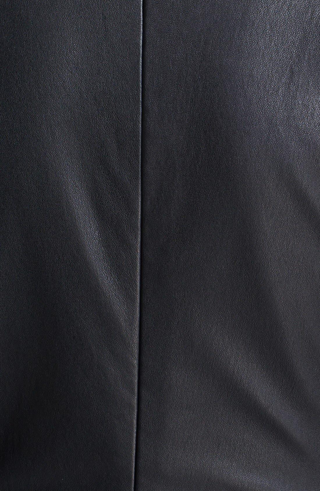 Alternate Image 3  - MARC BY MARC JACOBS 'Lena' Leather Sheath Dress