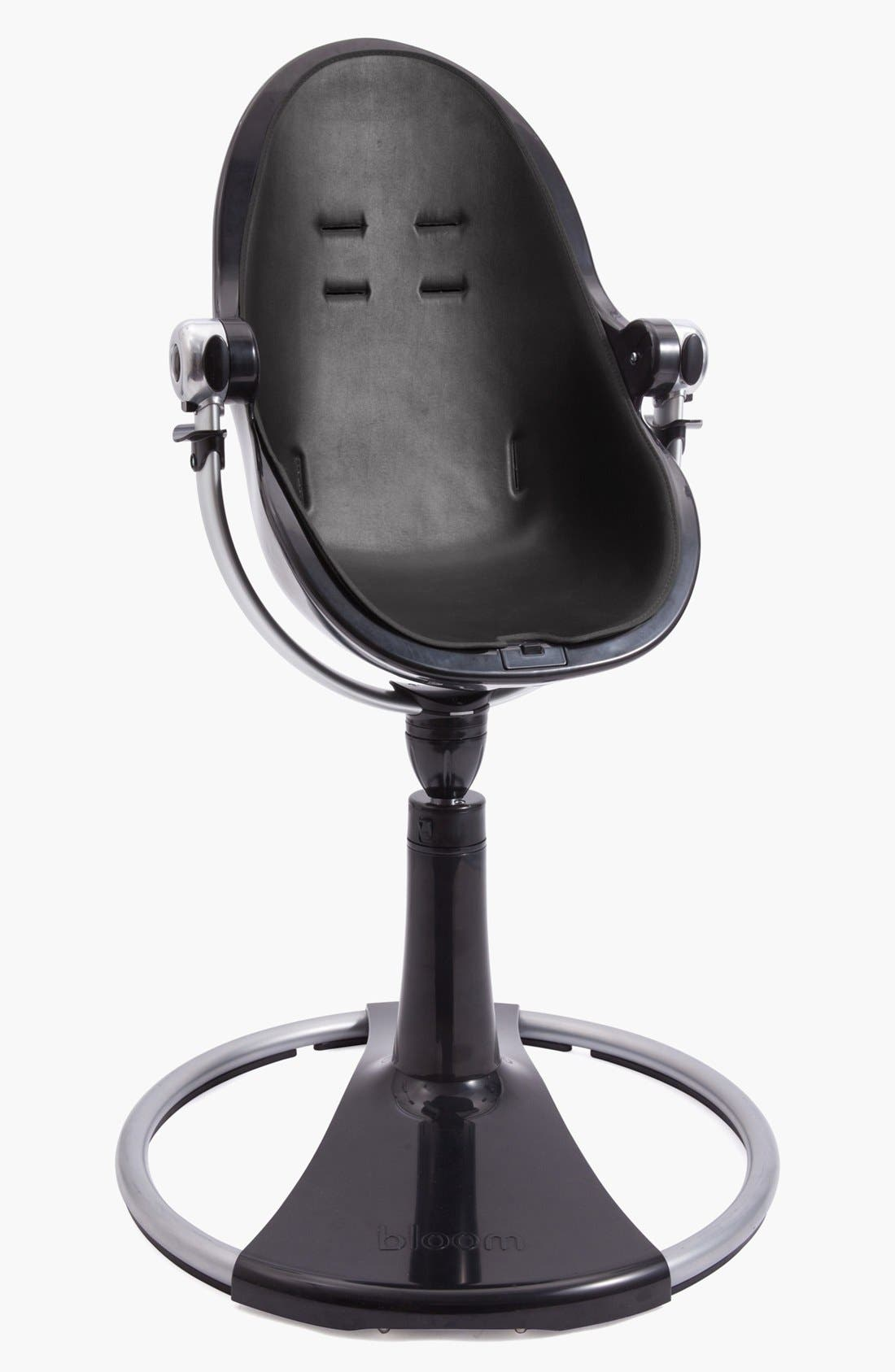 'Fresco<sup>™</sup> Chrome' Contemporary Highchair,                             Alternate thumbnail 4, color,                             Black