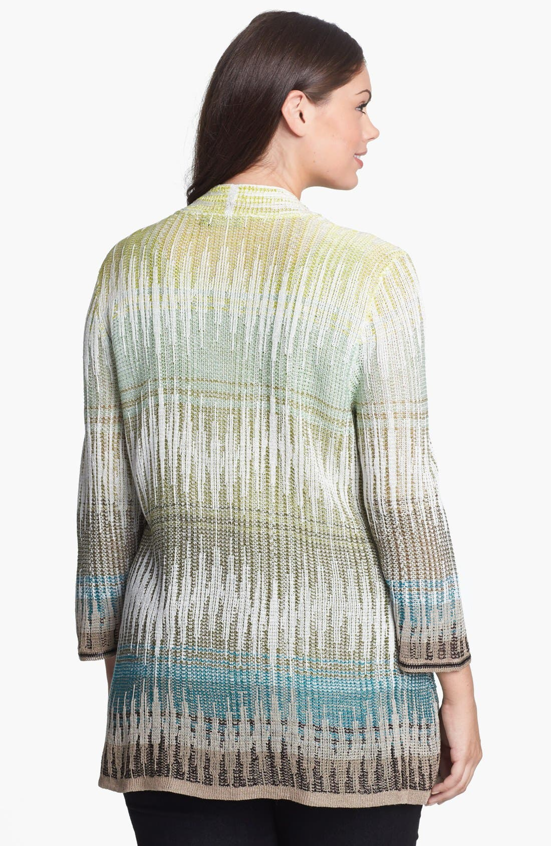Alternate Image 2  - NIC+ZOE 'Canopy' Cardigan (Plus Size)