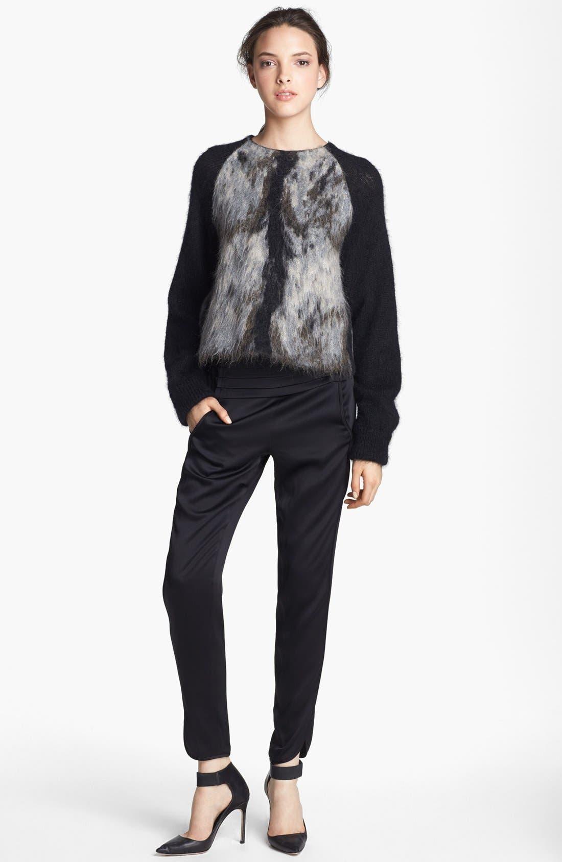 Alternate Image 2  - Alexander Wang Fuzzy Sweater