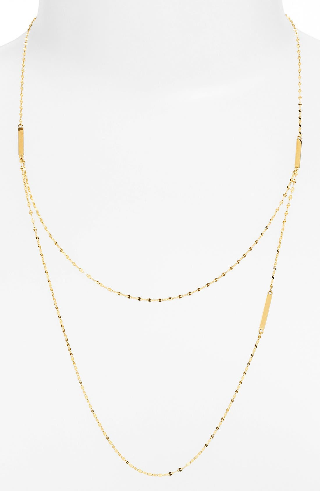 Alternate Image 1 Selected - Lana Jewelry Tri Bar Necklace
