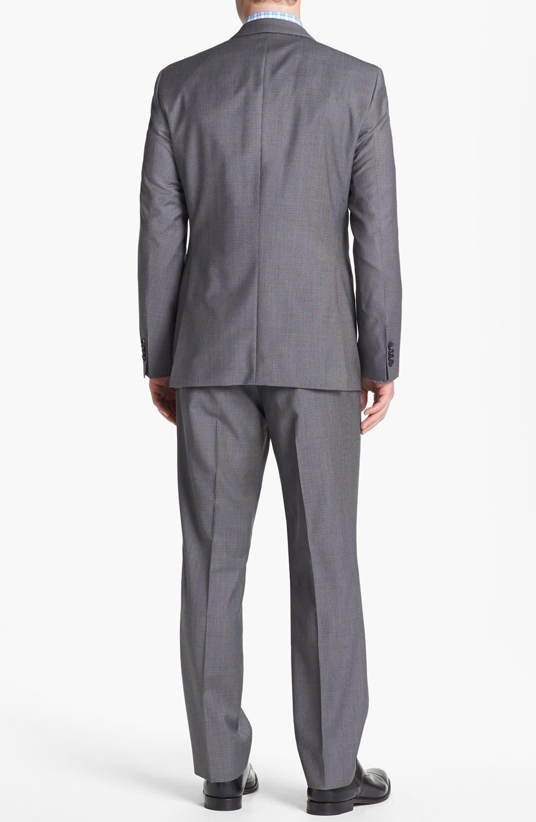 Alternate Image 3  - BOSS HUGO BOSS 'James/Sharp' Trim Fit Houndstooth Suit