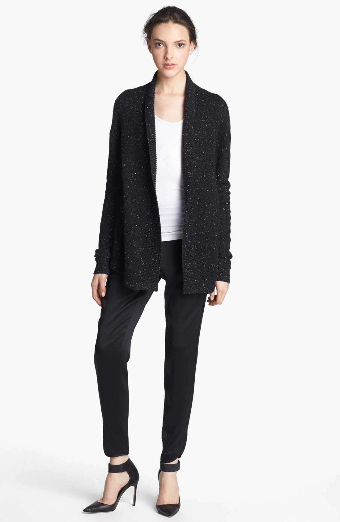 Alternate Image 1 Selected - Alexander Wang Donegal Tweed Knit Cardigan