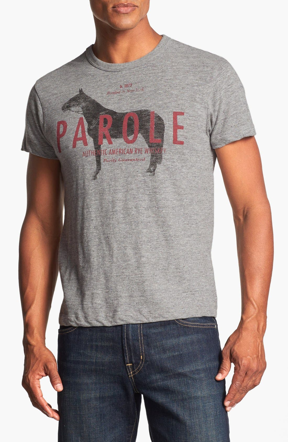 Alternate Image 1 Selected - Tailgate 'Parole Whiskey' Trim Fit T-Shirt