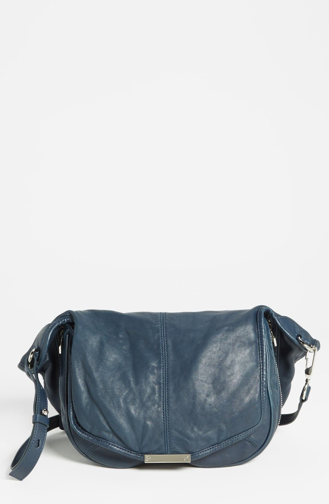 Alternate Image 1 Selected - Alexander Wang 'Iris - Nickel' Leather Crossbody Bag, Medium