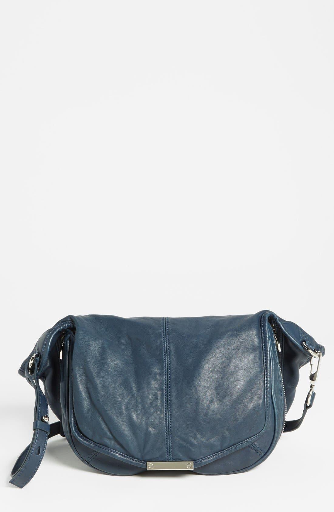 Main Image - Alexander Wang 'Iris - Nickel' Leather Crossbody Bag, Medium