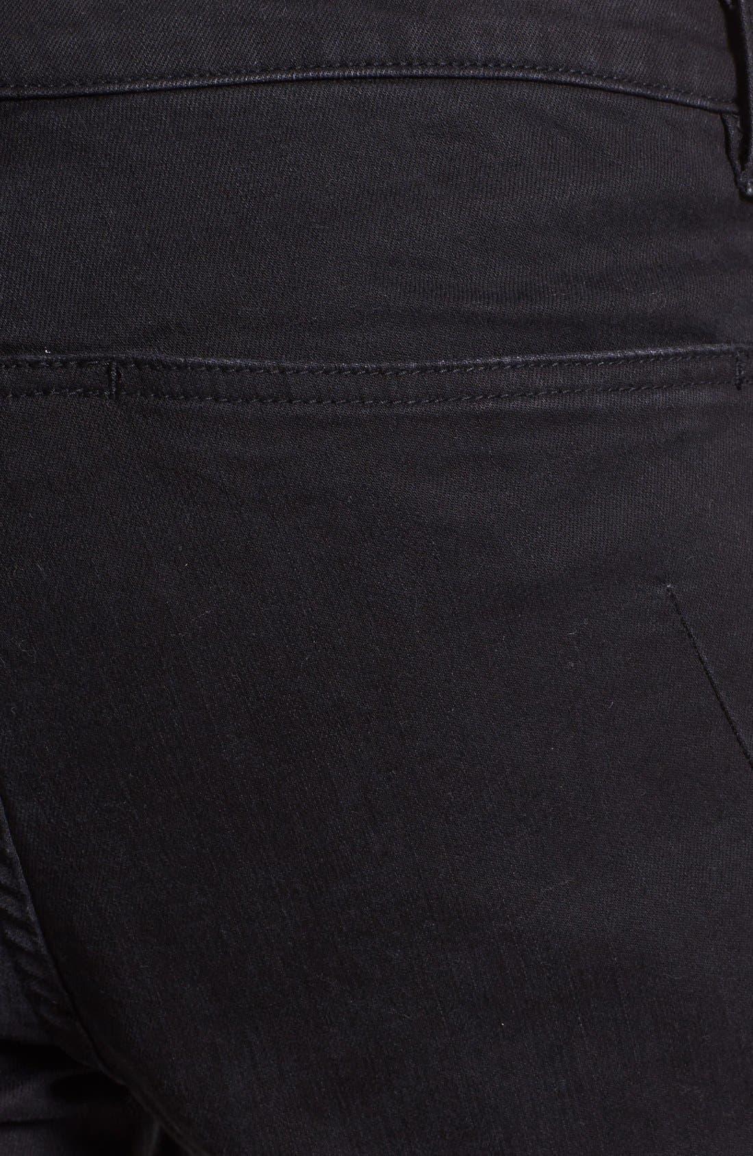 Alternate Image 4  - Kenneth Cole Collection Slim Fit Jeans (Black)