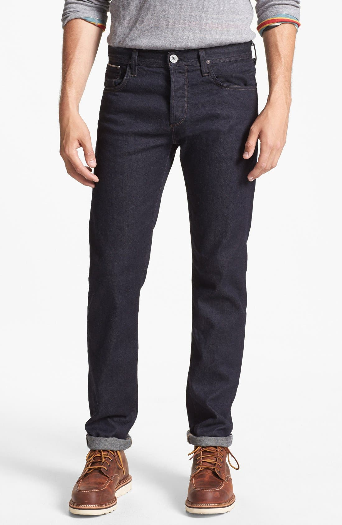 Alternate Image 1 Selected - Citizens of Humanity 'Core' Slim Fit Selvedge Jeans (Frankie)