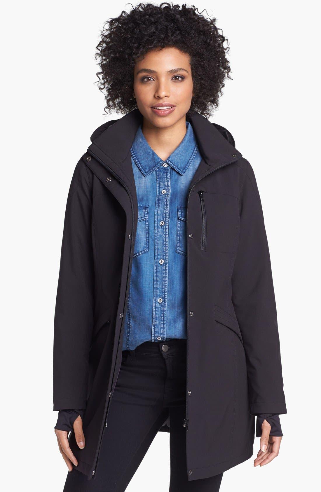 Alternate Image 1 Selected - Kristen Blake Raincoat with Detachable Hood (Nordstrom Exclusive)