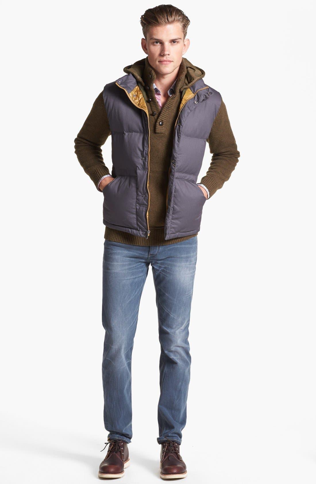 Alternate Image 4  - BOSS HUGO BOSS 'Lucas' Regular Fit Sport Shirt