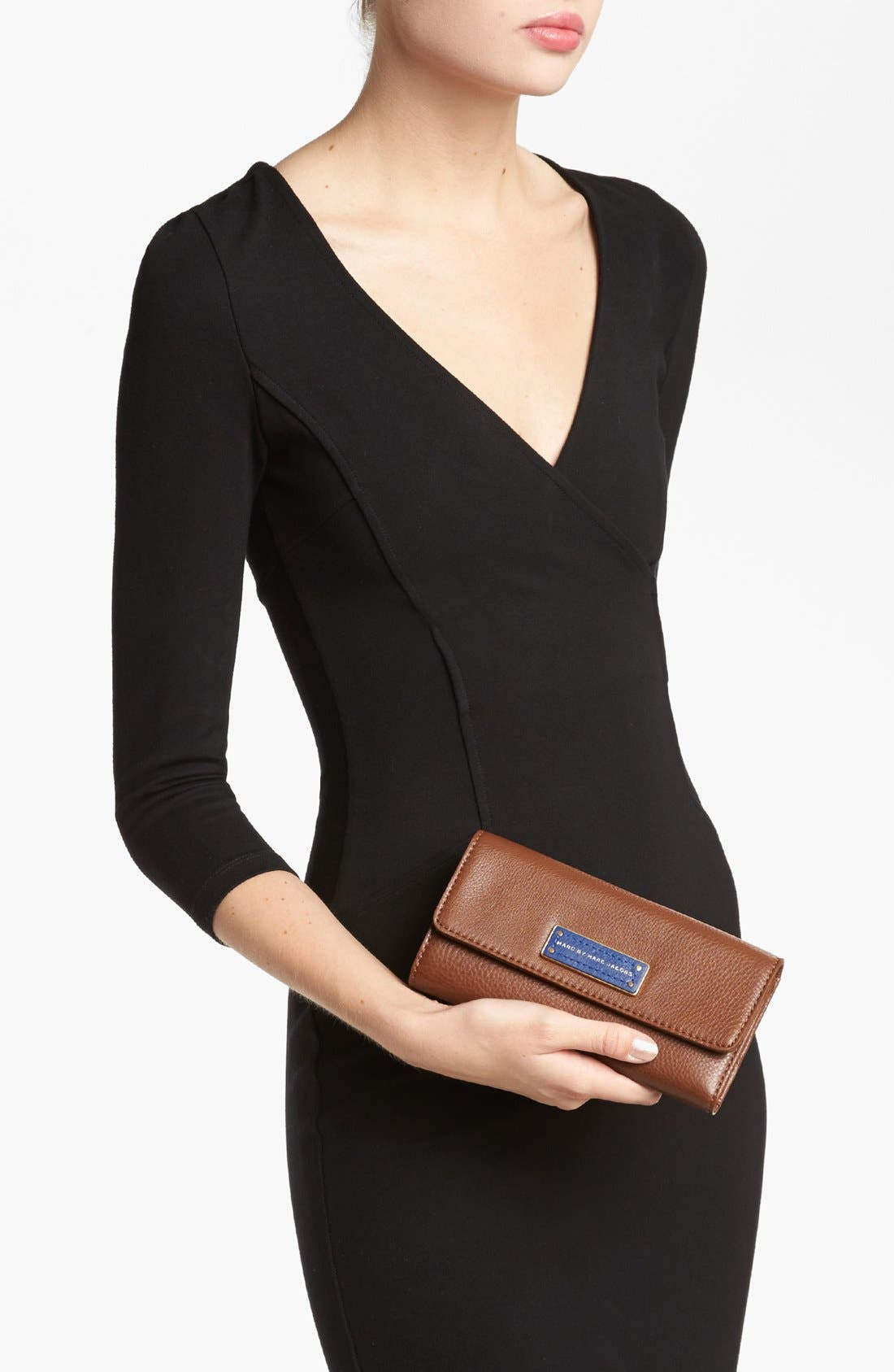 Alternate Image 2  - MARC BY MARC JACOBS 'Too Hot to Handle' Colorblock Trifold Wallet