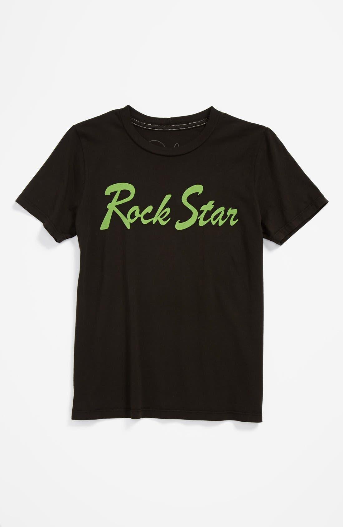 Alternate Image 1 Selected - Peek 'Rock Star' T-Shirt (Big Boys)