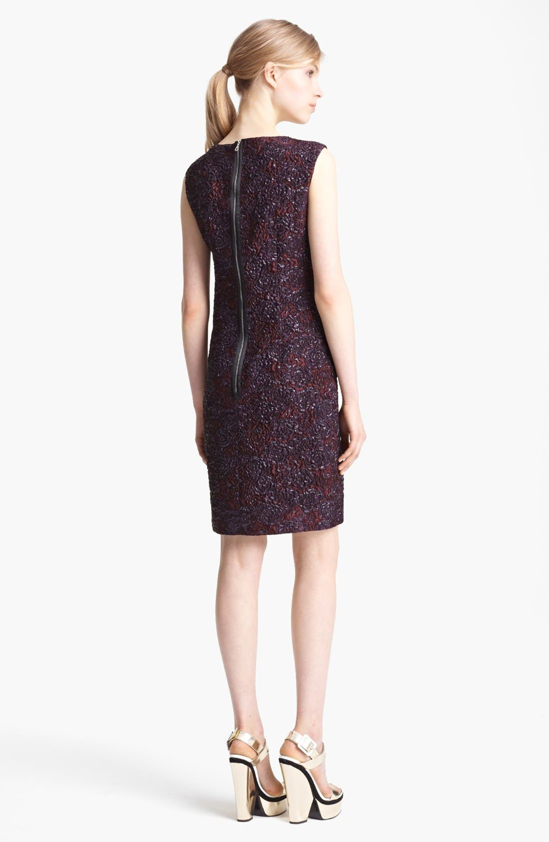 Alternate Image 2  - Erdem Sleeveless Brocade Shift Dress