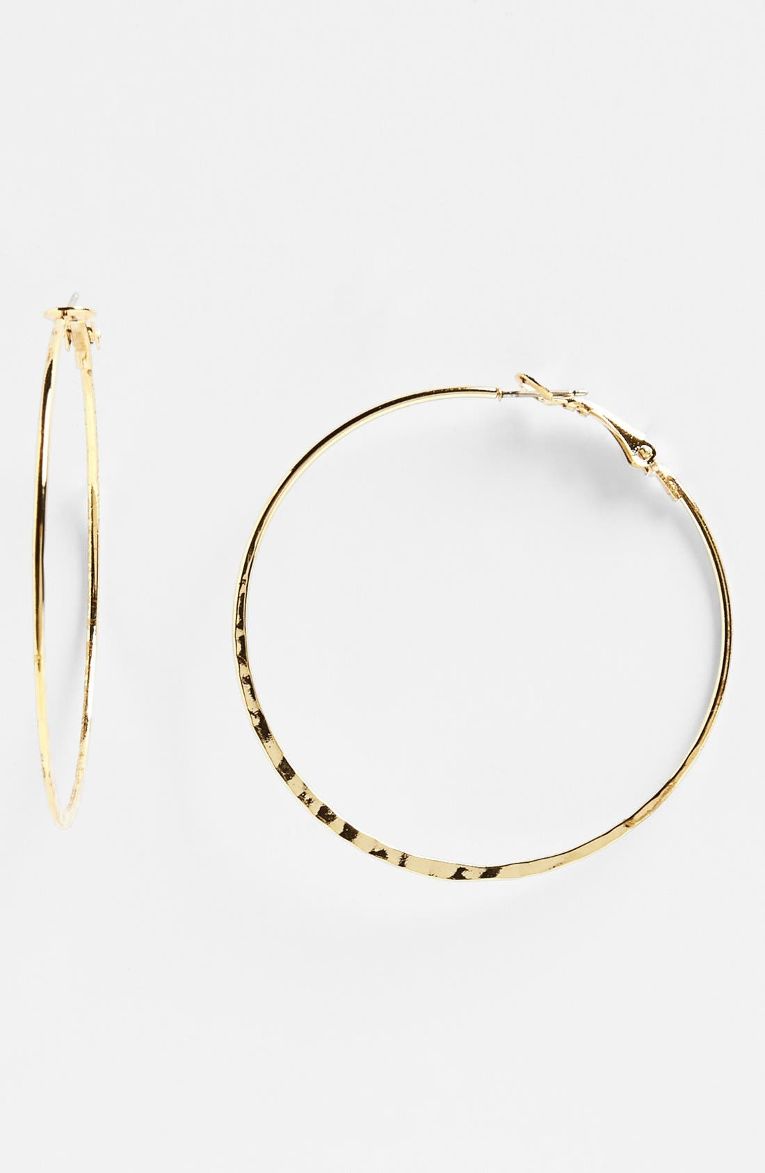 Alternate Image 1 Selected - Rachel Large Hoop Earrings