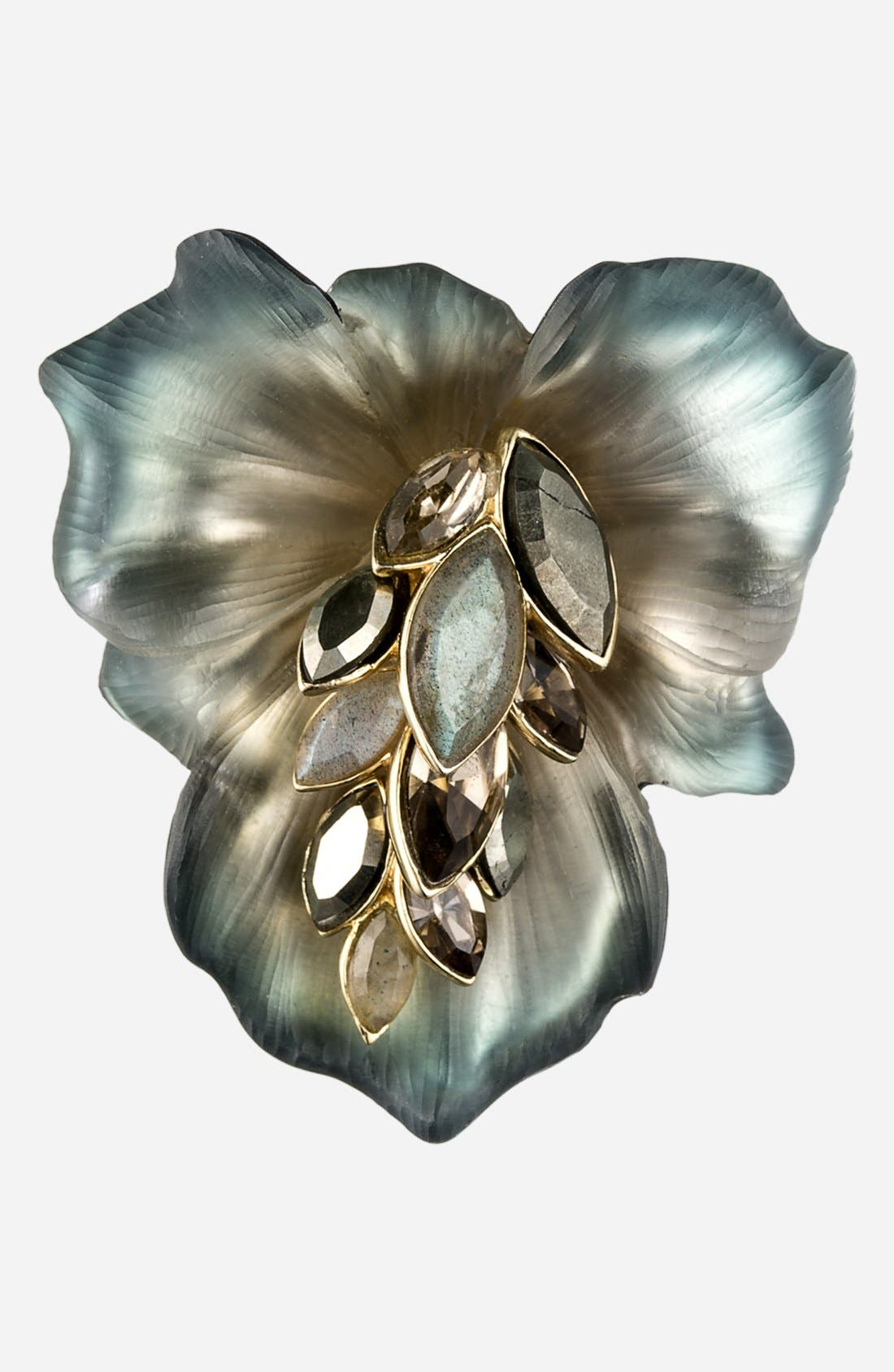 Alternate Image 1 Selected - Alexis Bittar 'Lucite® - Neo Bohemian' Lily Pin