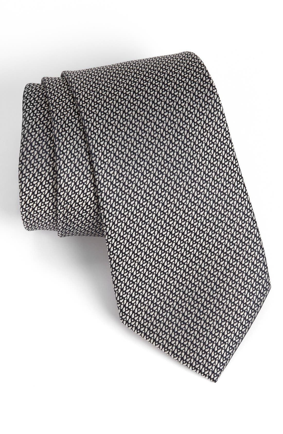 Alternate Image 1 Selected - Z Zegna Woven Tie