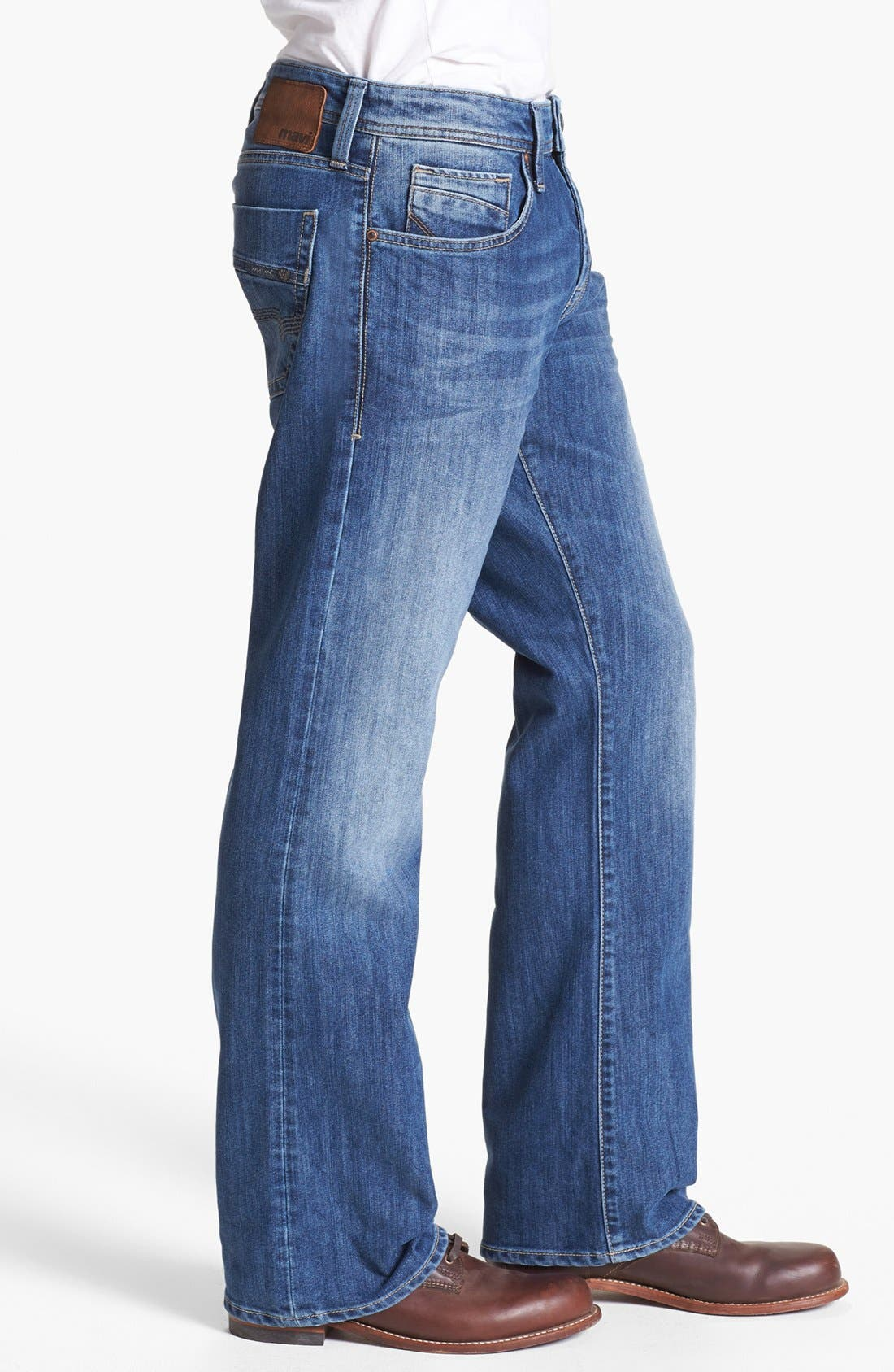 Alternate Image 3  - Mavi Jeans 'Josh' Bootcut Jeans (Mid Cooper)