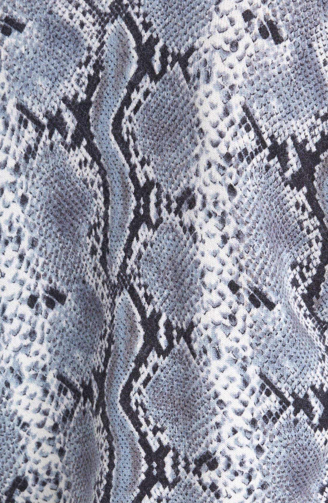 Alternate Image 3  - Pure Amici Snake Print Cashmere Sweater
