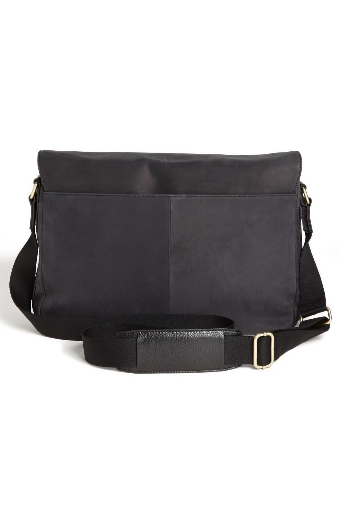 Alternate Image 2  - Ted Baker London Leather Messenger Bag