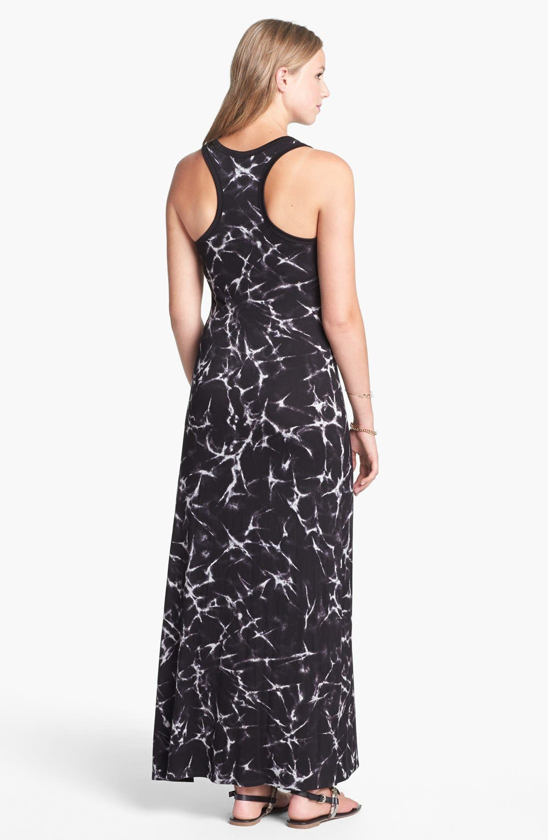 Alternate Image 2  - Soprano Racerback Maxi Dress (Juniors)