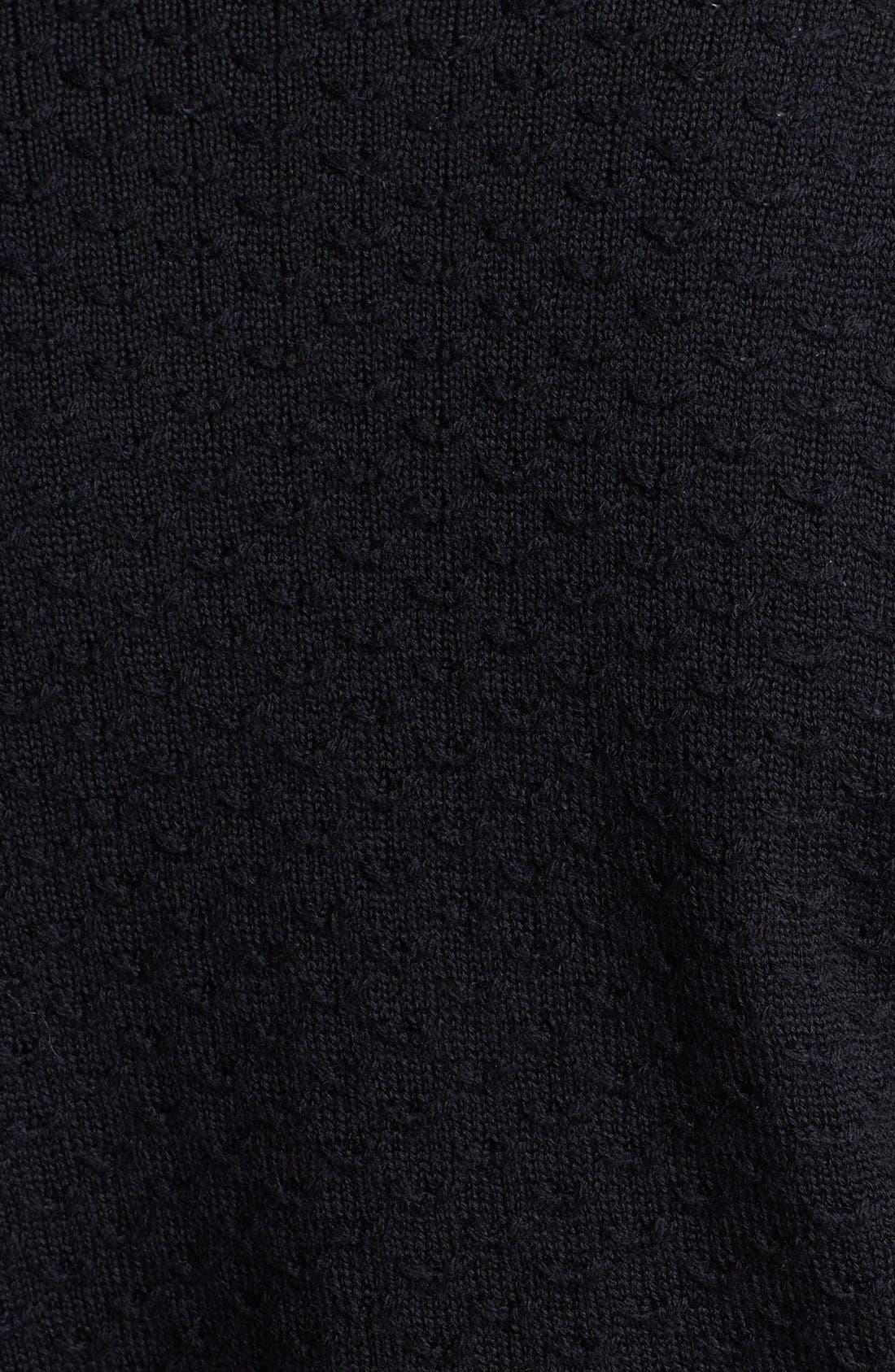 Alternate Image 5  - St. John Yellow Label Shoulder Snap Eyelet Knit Sweater