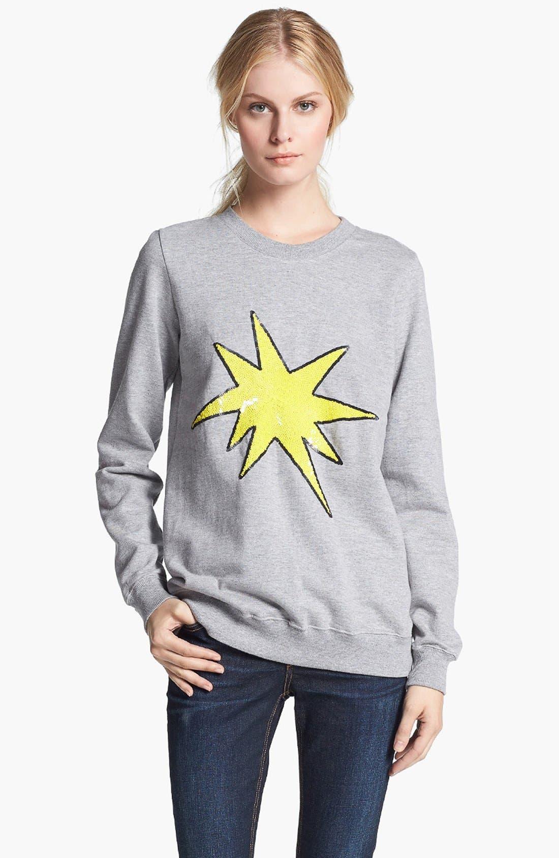 Alternate Image 1 Selected - Markus Lupfer 'Explosive Star' Sweatshirt