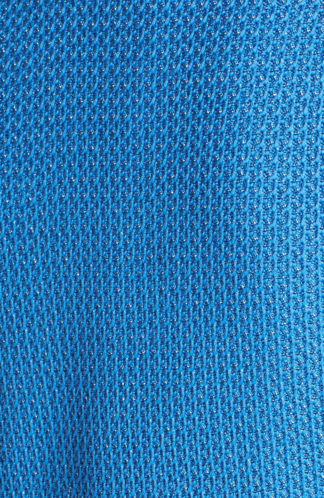 Alternate Image 5  - St. John Collection Satin Piped Metallic Lattice Knit Jacket