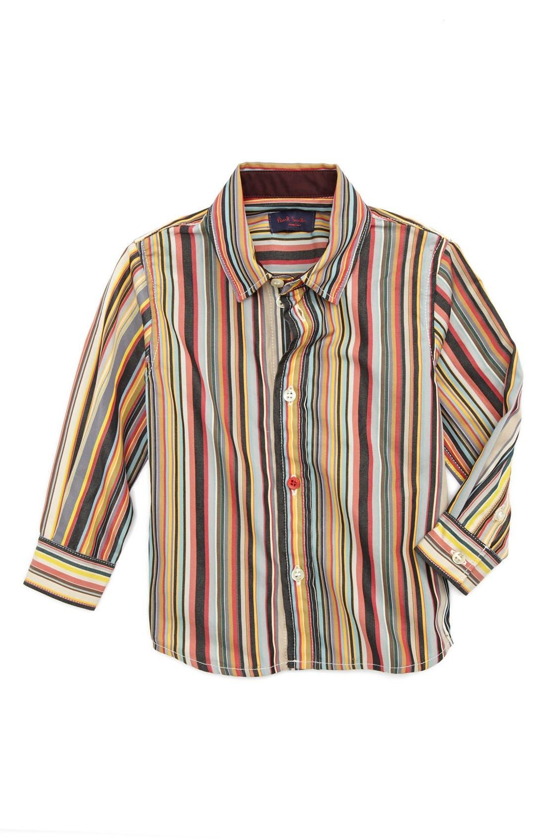 Main Image - Paul Smith Junior Sport Shirt (Baby Boys)