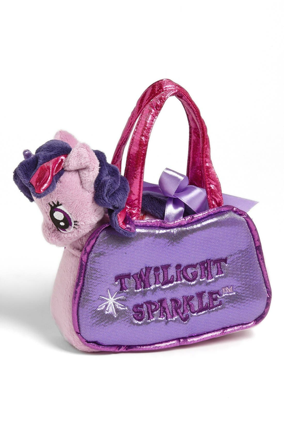 Main Image - Aurora World Toys 'My Little Pony® - Twilight Sparkle®' Stuffed Pony & Purse