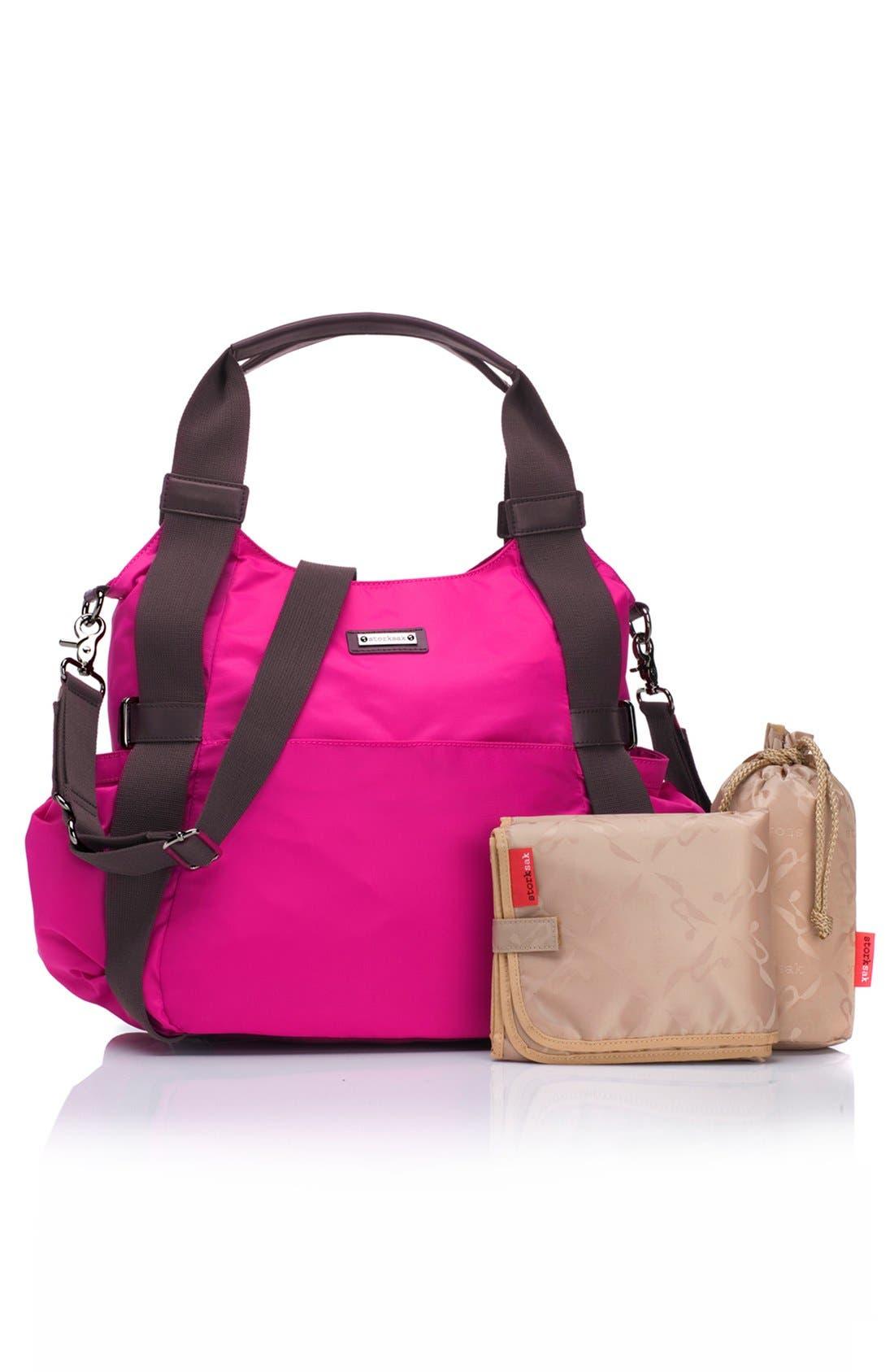 Alternate Image 2  - Storksak 'Tania Bee' Diaper Bag