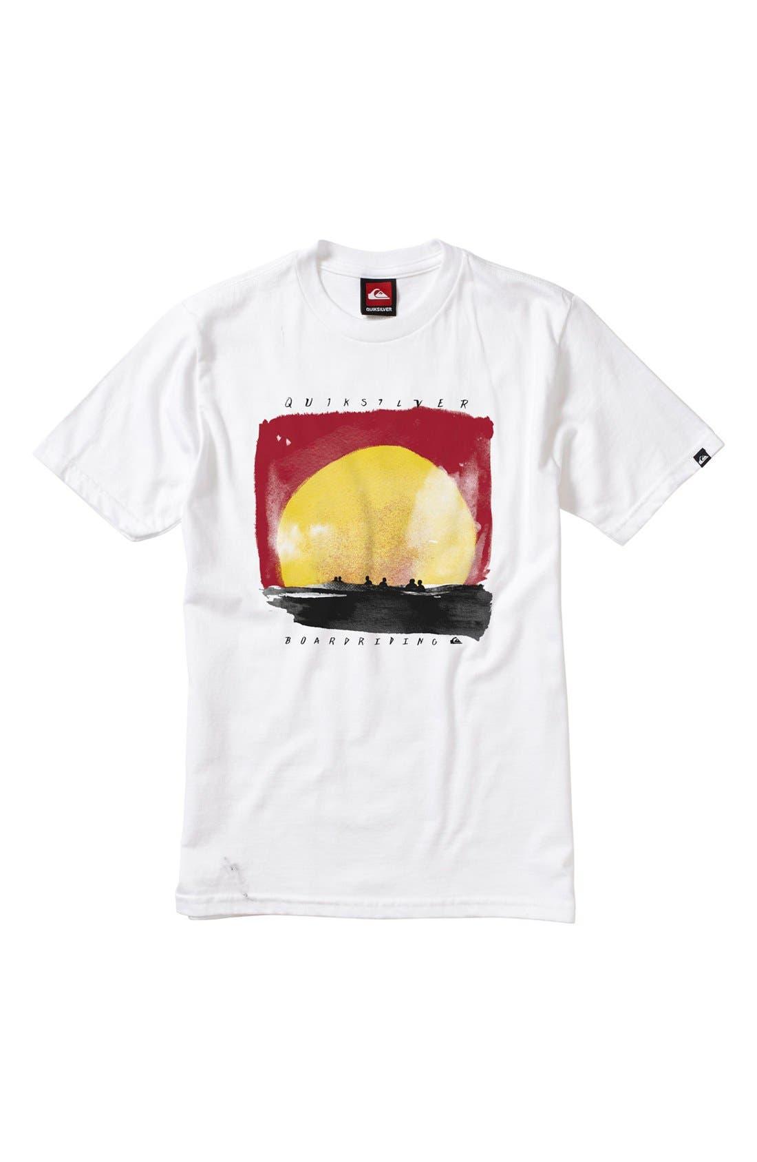 Main Image - Quiksilver 'Sets' T-Shirt (Little Boys)