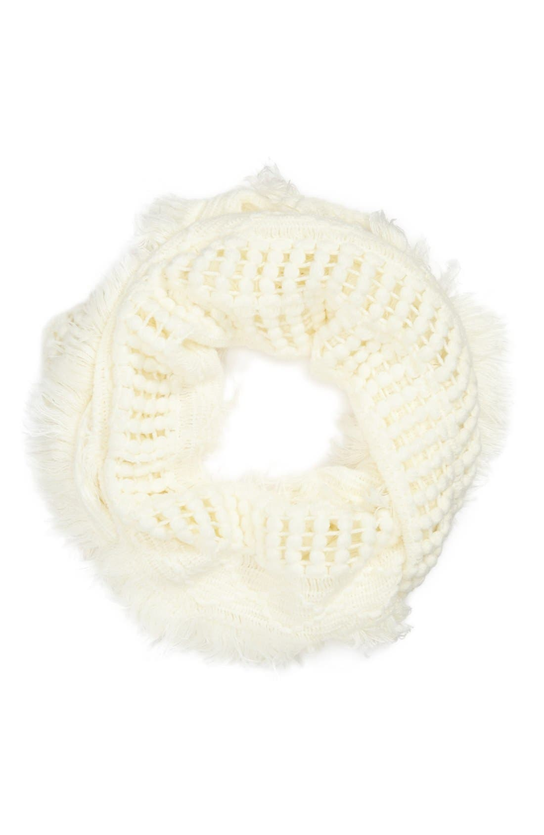 Alternate Image 1 Selected - Capelli of New York Knit Infinity Scarf (Juniors) (Online Only)