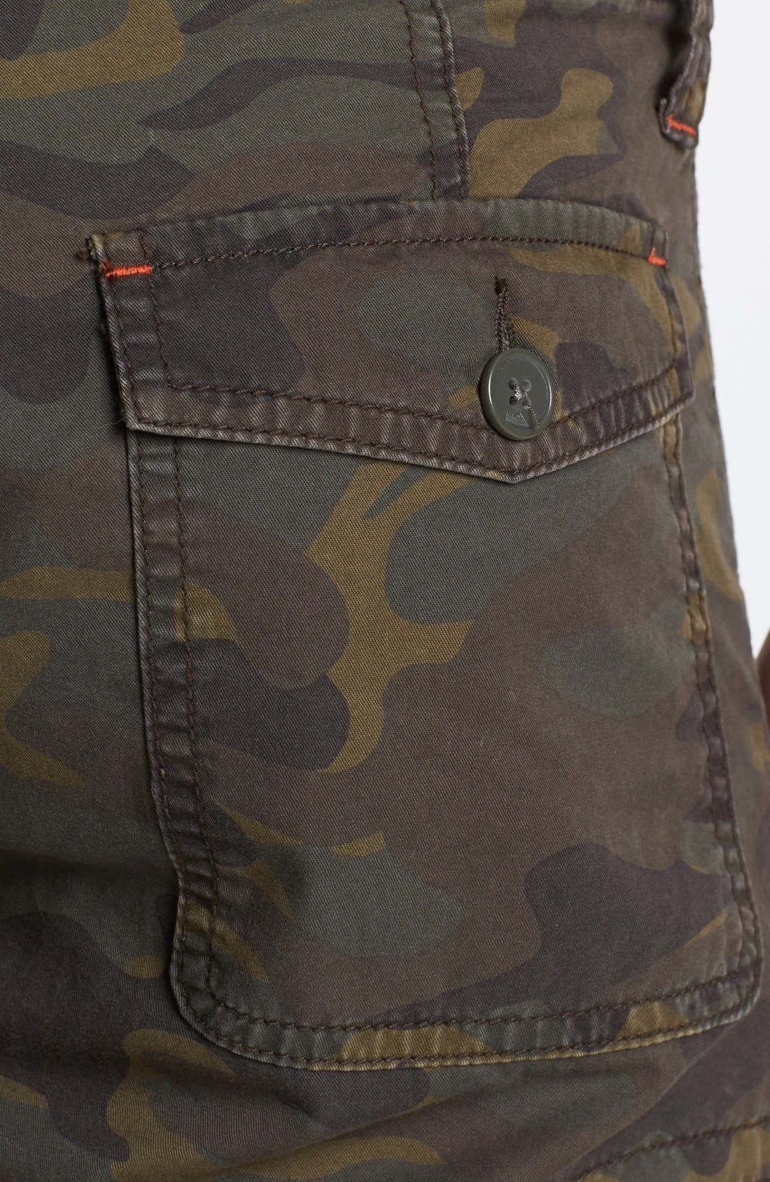 Alternate Image 3  - Quiksilver 'Dust Buster' Camo Print Cargo Shorts