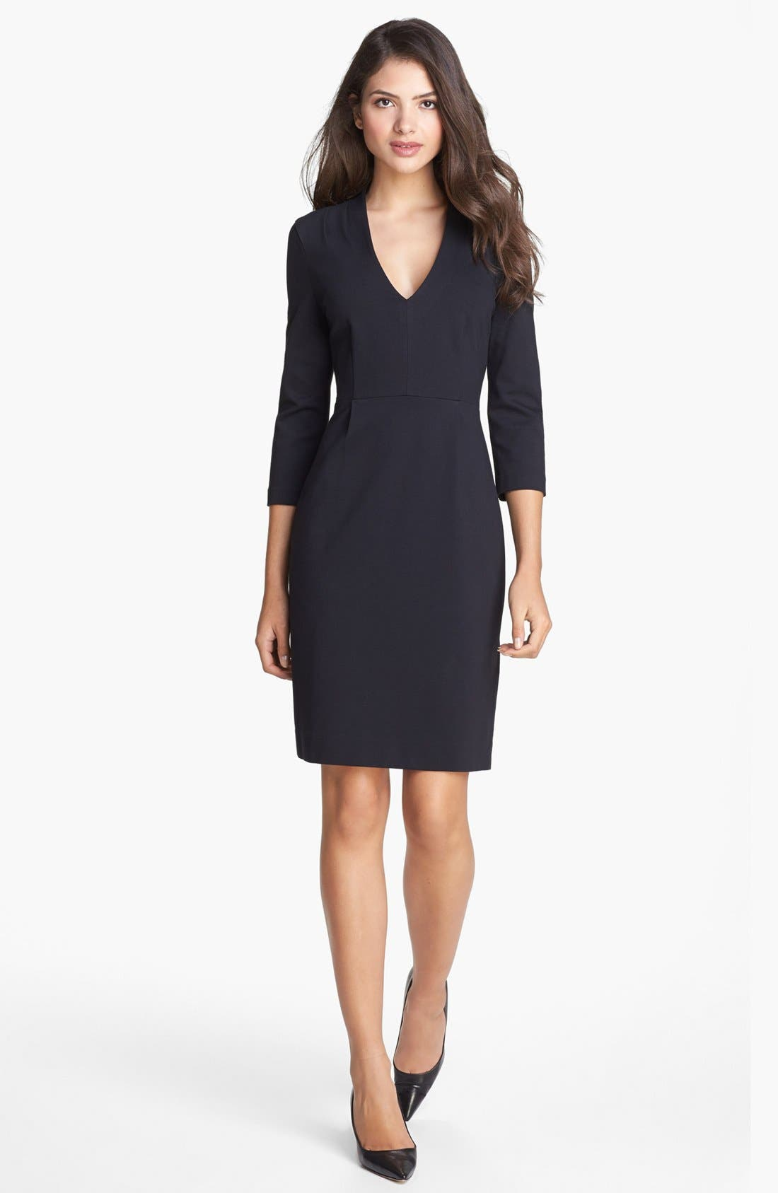 Main Image - kate spade new york 'darlene' stretch sheath dress